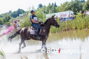 Alberto Fochesato tijdens cross county in Outdoor Helvoirt